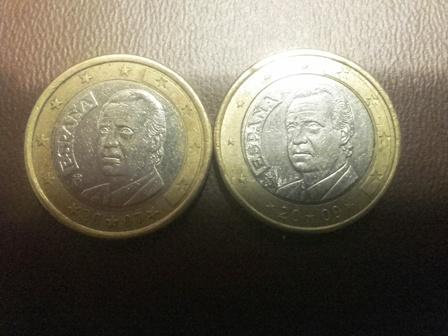 1 euro Rey Juan Carlos Omni310