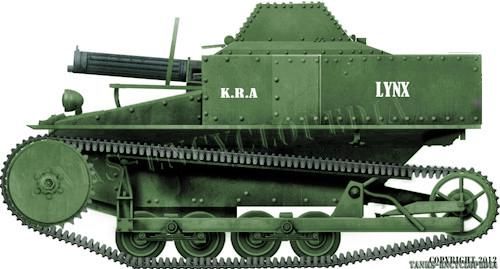 Tankette Carden Loyd MK.VI dans l'armée hollandaise Iomek510