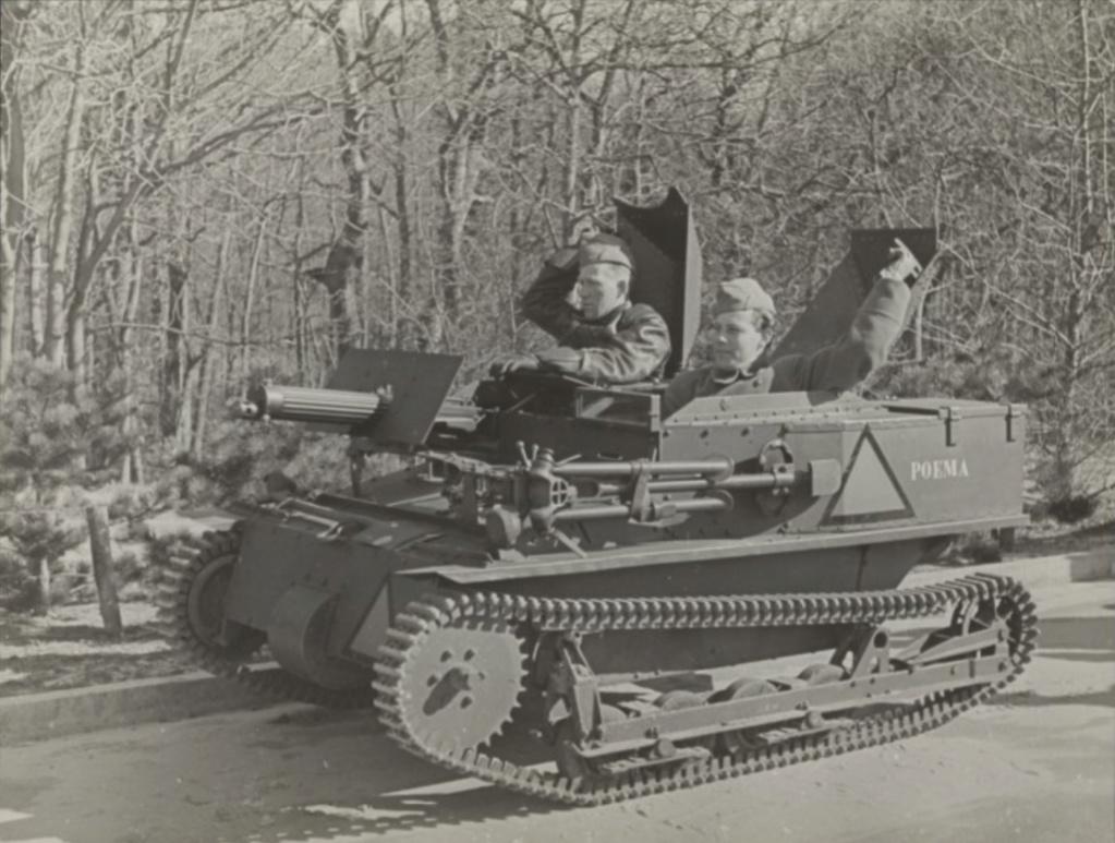 Tankette Carden Loyd MK.VI dans l'armée hollandaise M6haju10