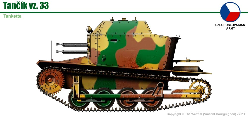 Tankette TK 33 P110