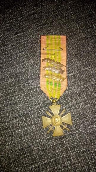 Estimation Croix de Guerre 1939 P_201933