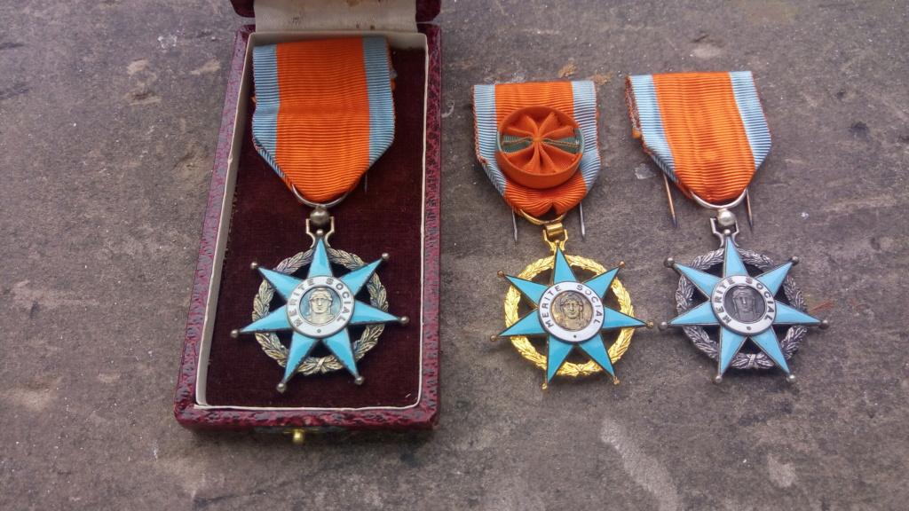 Aide-Graveurs de l'ordre du Mérite Social (1936-1963 ) P_202018