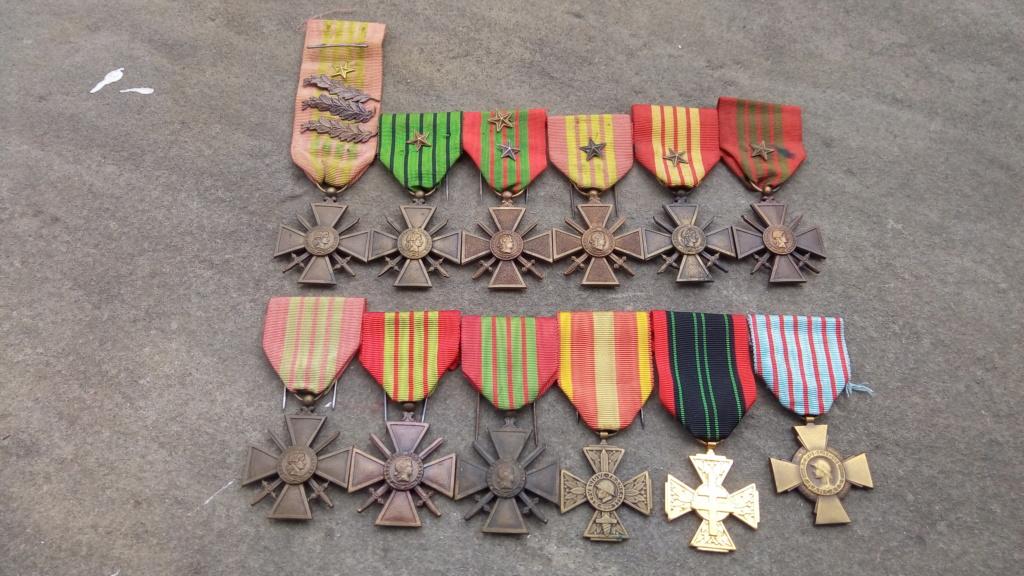 Evolution de ma modeste collection de décorations et ordres militaires/civils P_202034