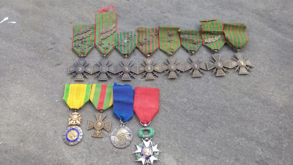 Evolution de ma modeste collection de décorations et ordres militaires/civils P_202036