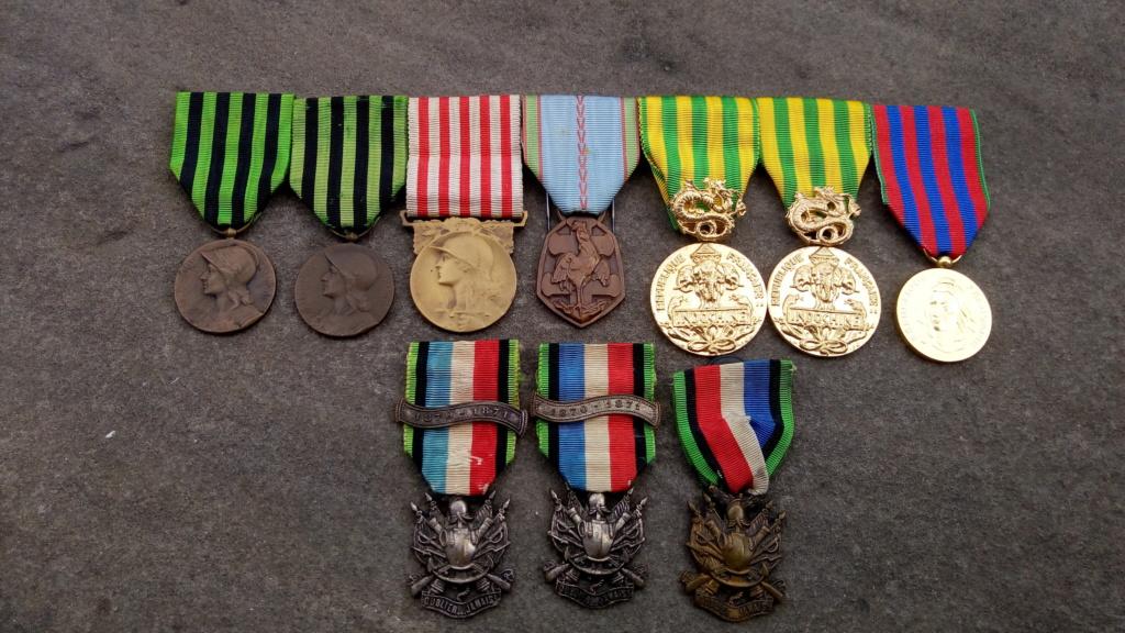 Evolution de ma modeste collection de décorations et ordres militaires/civils P_202037