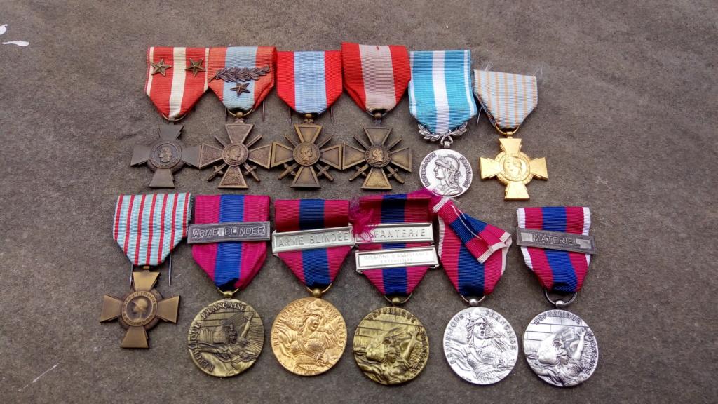 Evolution de ma modeste collection de décorations et ordres militaires/civils P_202038
