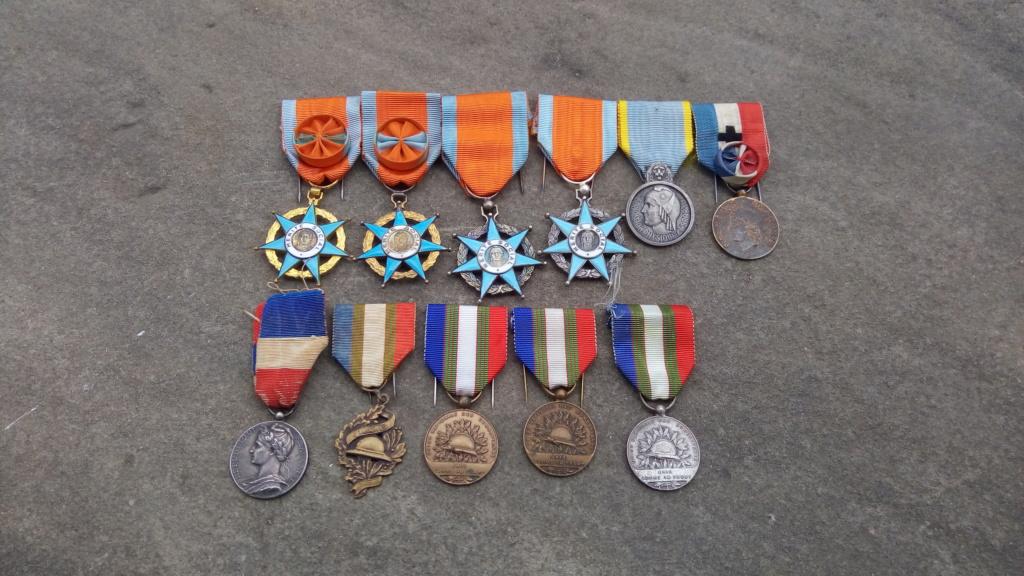 Evolution de ma modeste collection de décorations et ordres militaires/civils P_202039