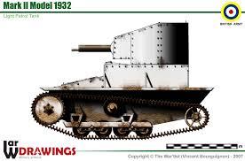 Vickers Tank Mark II model 1932 Tzolzo11