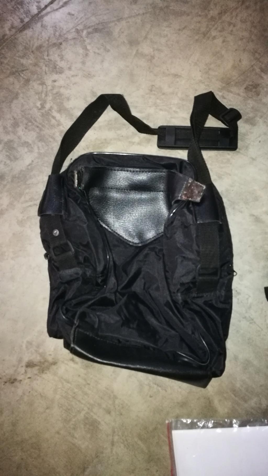 Funda bagster depósito con maleta para Bandit 400 Img_2010