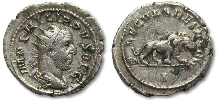 2 Antoninianos de la celebración de los 1000 años Ad Urbe Condita - Página 2 Antoni10
