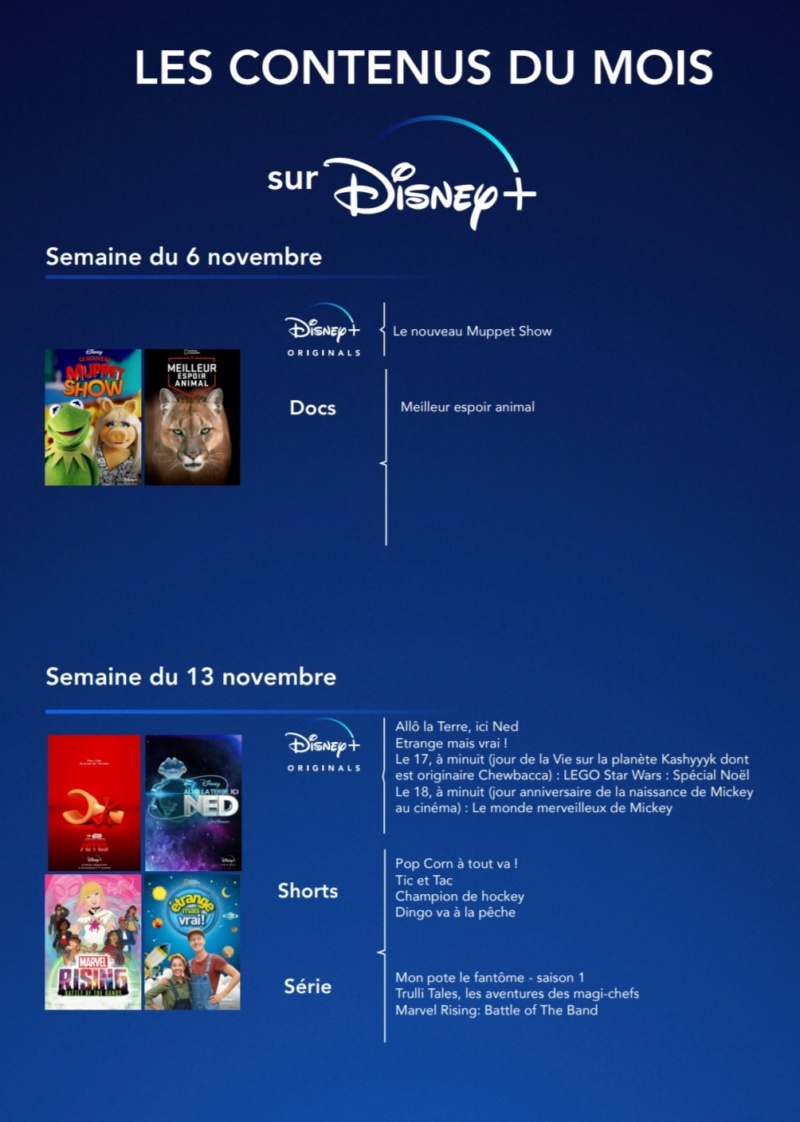 Les nouveautés du catalogue Disney+ - Page 6 Screen41