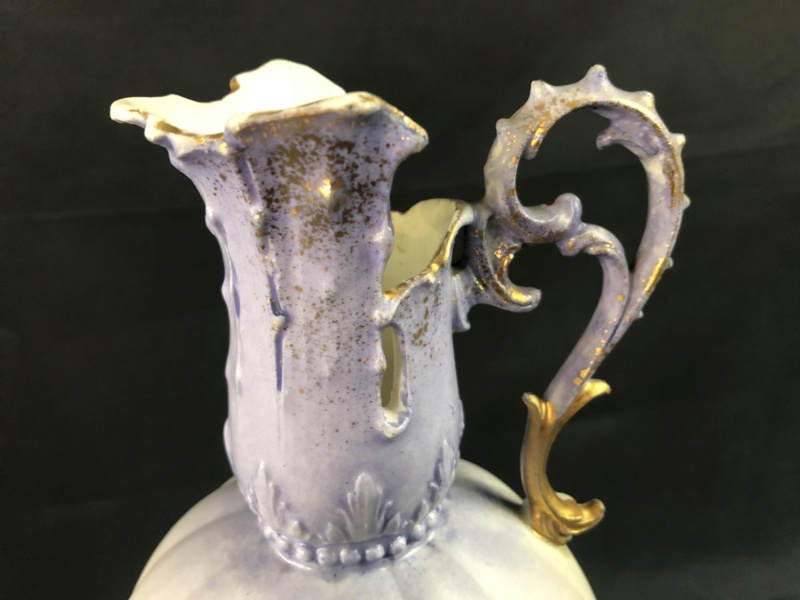 Ornate Austria Vase Pitcher with square mark - any info appreciated Img_2511