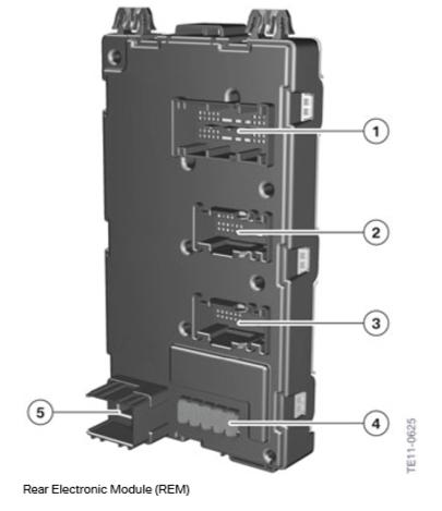 F30 Électronique générale pour véhicules BMW Module11