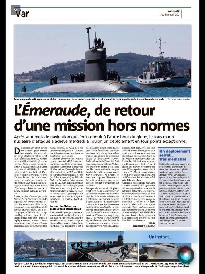 ÉMERAUDE (SNA) - Page 6 Emerau10