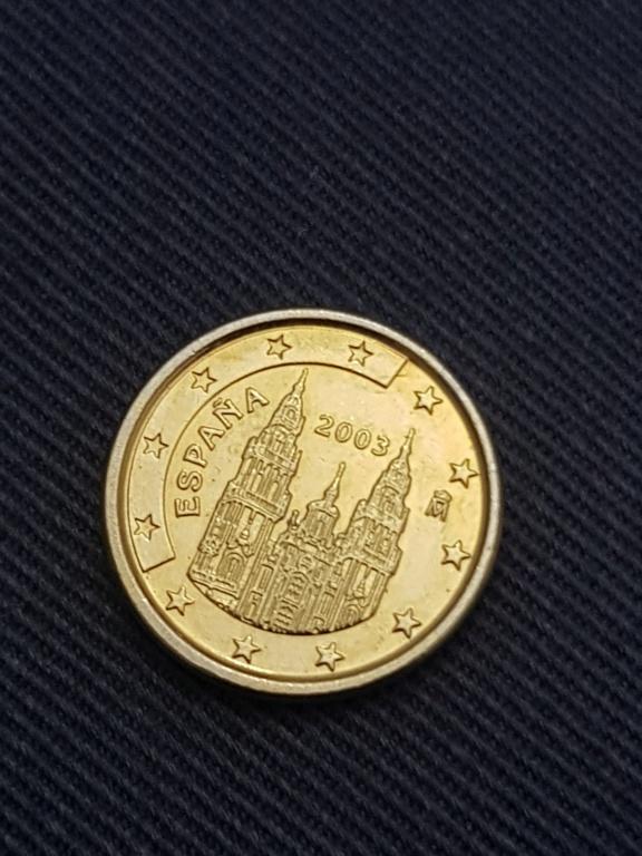 1 centimo dorado. 15735811