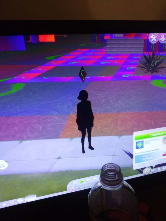 Sims 4 game keep popping up with colorful question marks. 20191111