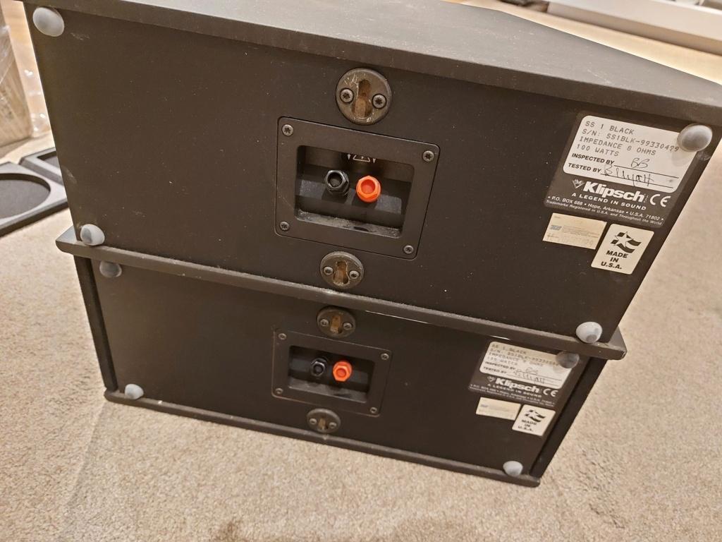 Klipsch SS-1 Dipole Surround Speaker SOLD Ss1_510