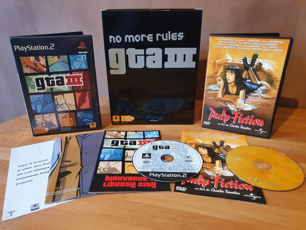 [Résolut] GTA 3 Edition collector PS2. 20210131