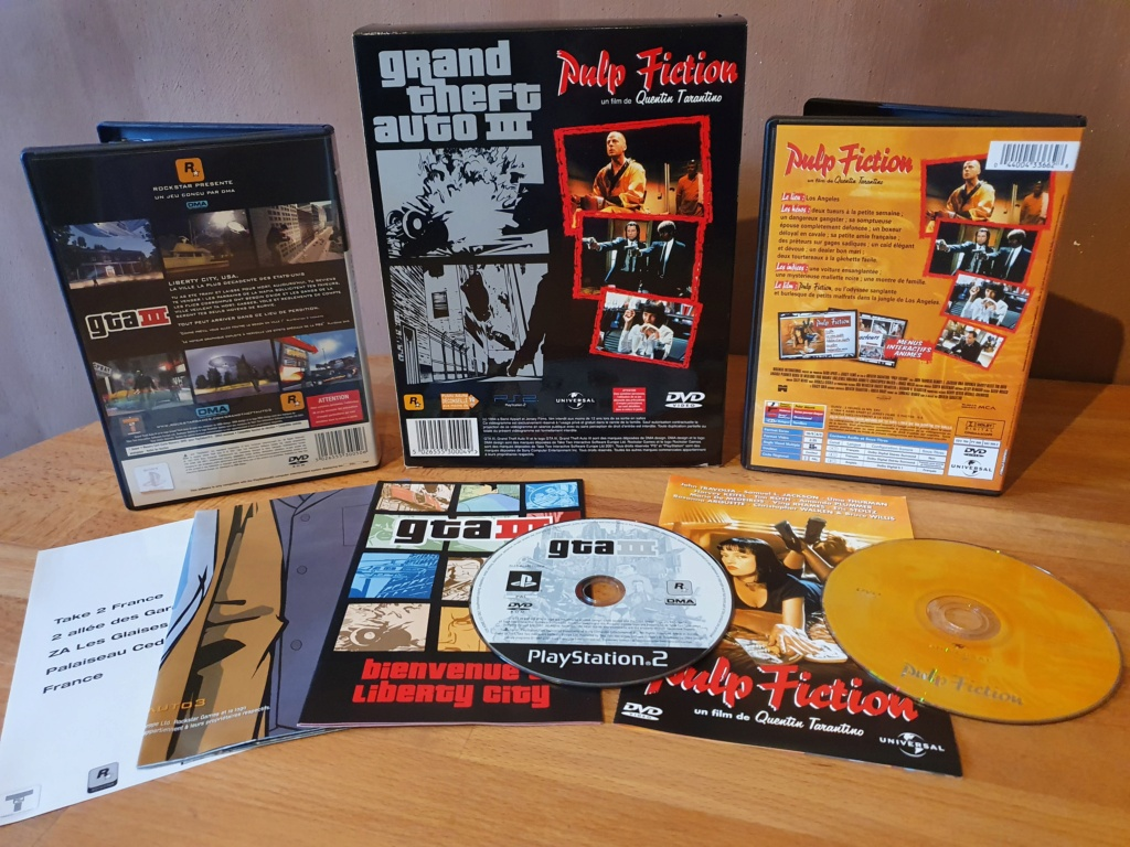 [Résolut] GTA 3 Edition collector PS2. 20210134