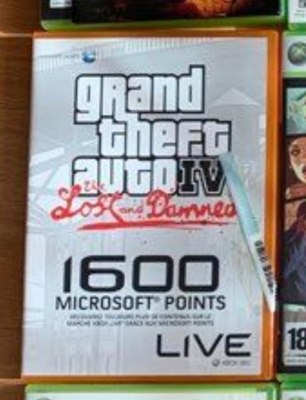 Recherche GTA Lost and Damned Xbox 1600 points Microsoft... Screen11