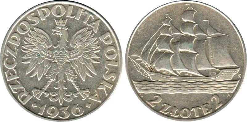 10 Zlotych 1932 - Polonia 2_zlot10
