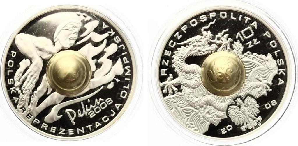 2 monedas de 10 Zloty de 2008 Polonia 33152_10