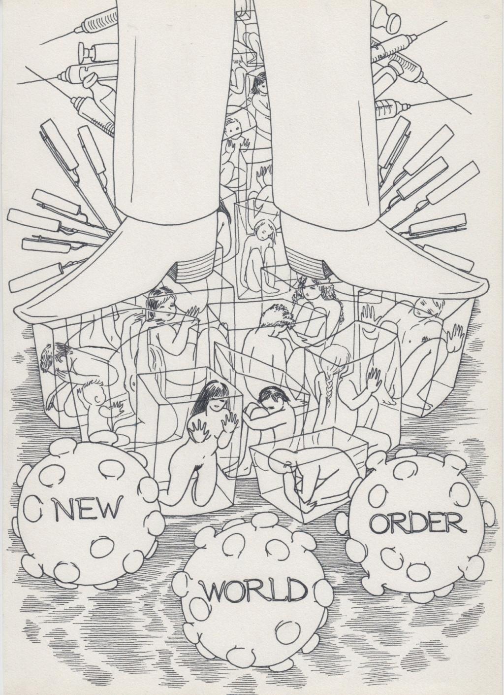 Flat Earth/Conspiracy Raw Drawings Scan110