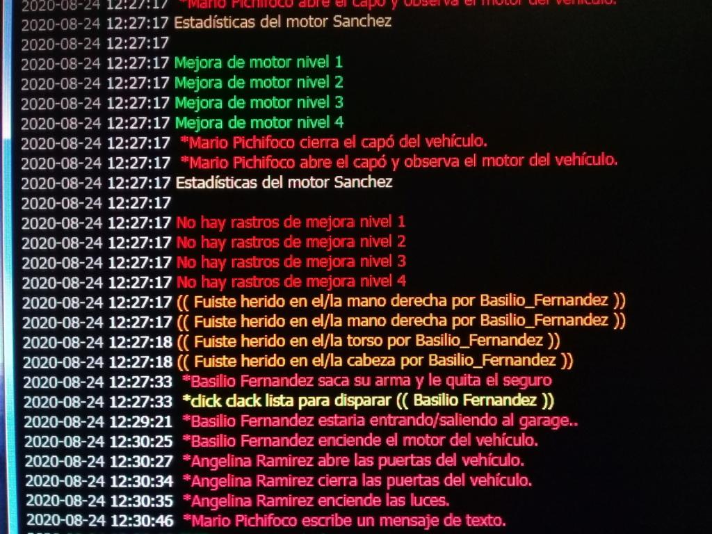 [Reporte] Basilio Fernandez 20200811