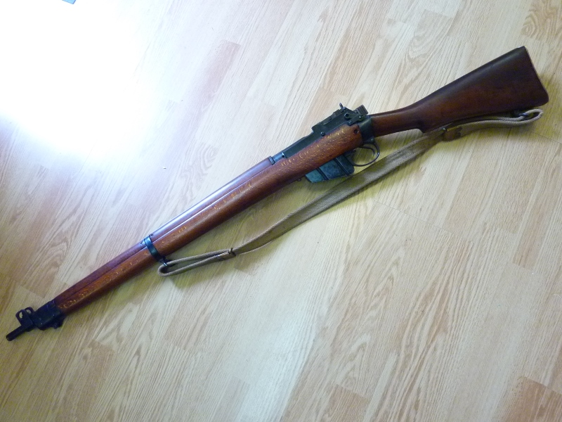 Ma nouvelle acquisition : Lee Enfield n°9 P1150859