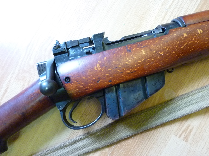 Ma nouvelle acquisition : Lee Enfield n°9 P1150861