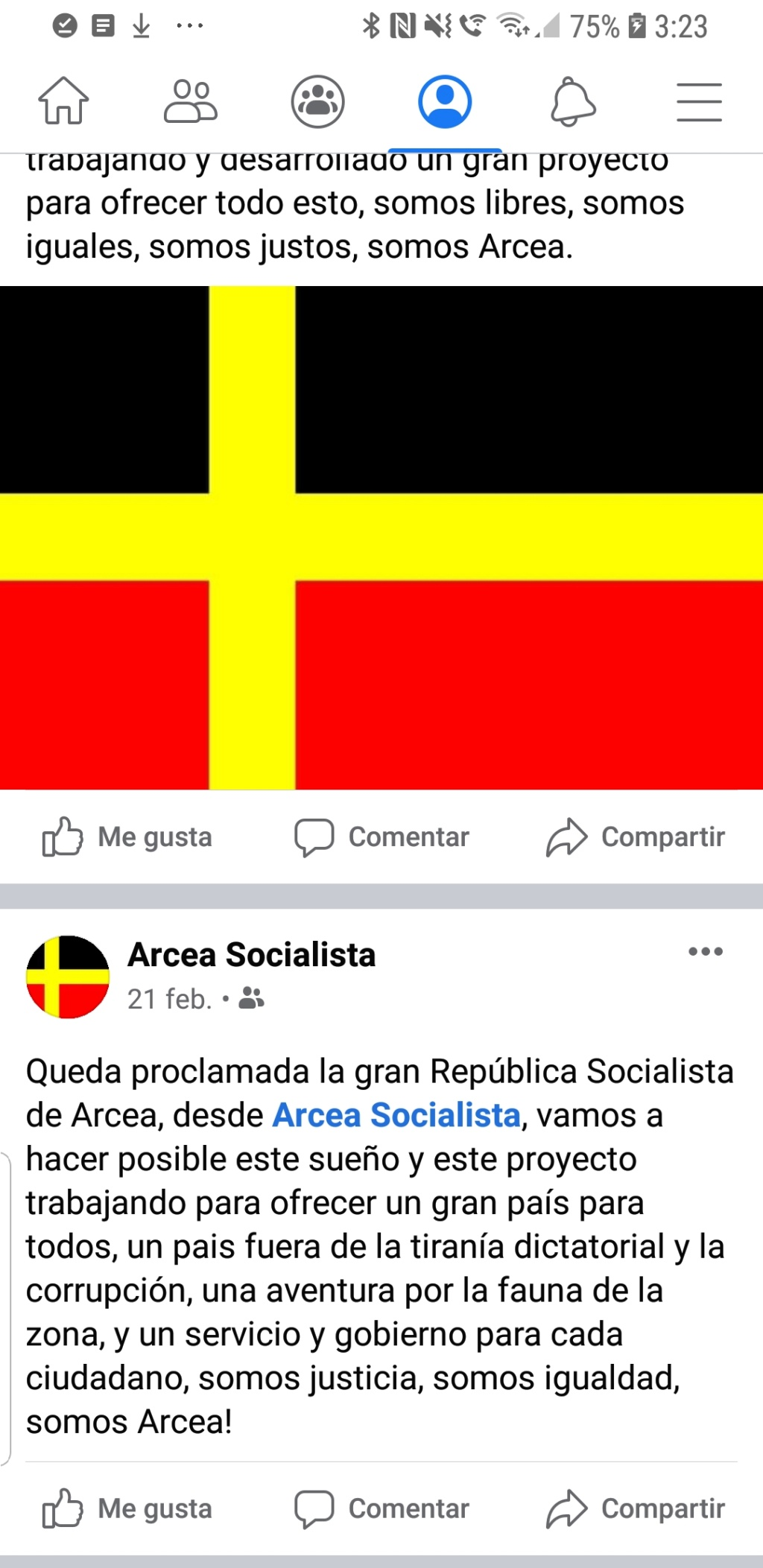 SOLICITUD DE INGRESO DE LA REPÚBLICA SOCIALISTA DE ARCEA Screen13