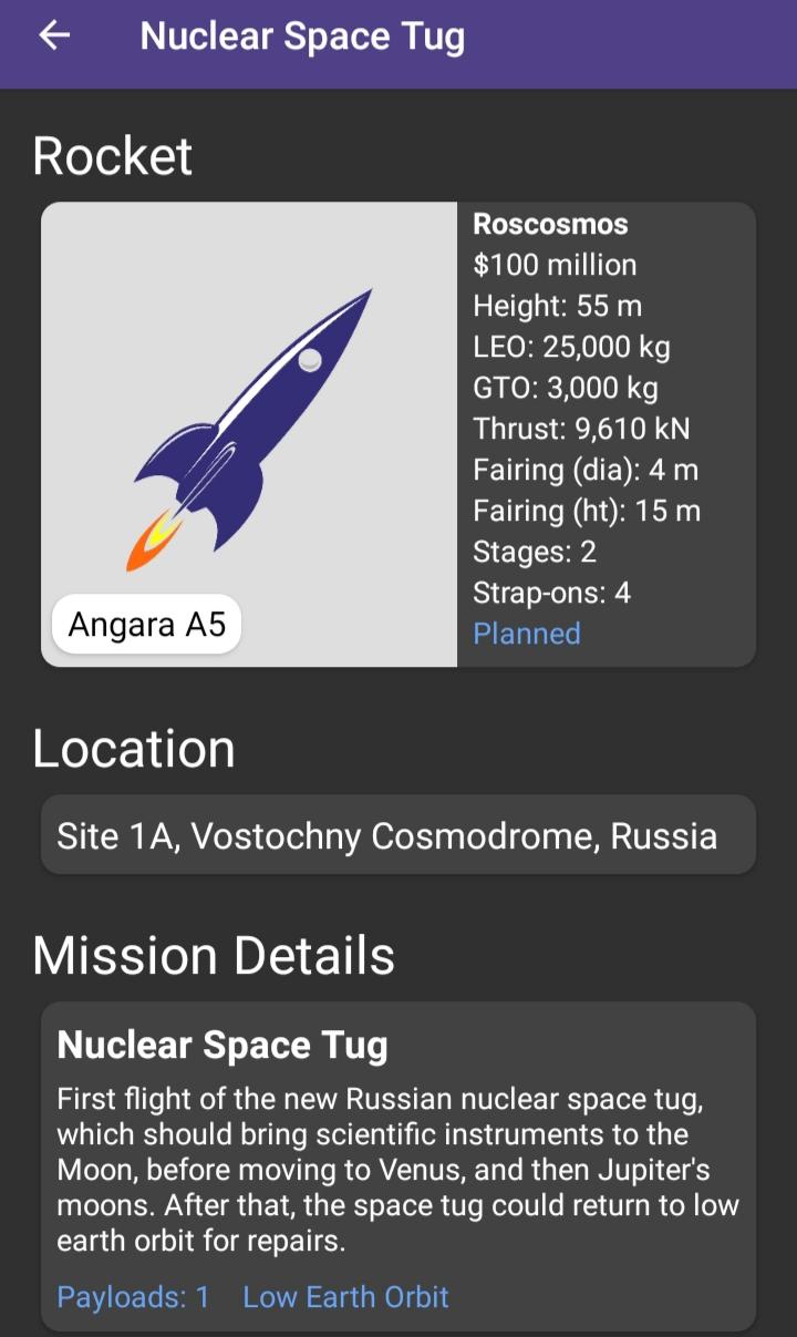 "[Russie] Projet de complexe spatial ""Nuklon"" 20210512"