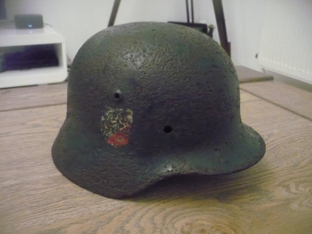 Coque casque allemand  P2520719