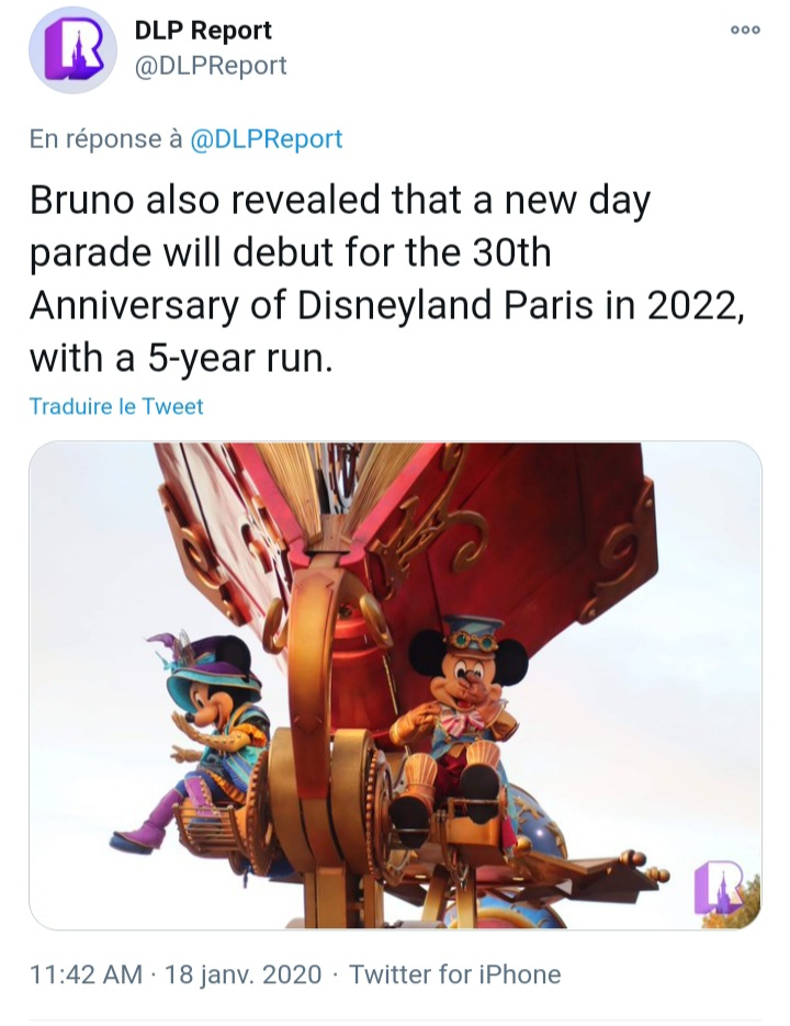 30e Anniversaire de Disneyland Paris [2022] 20210110
