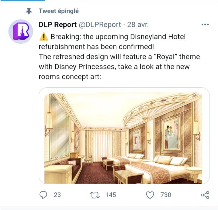 Disneyland Hotel - Rénovation - Page 6 20210421