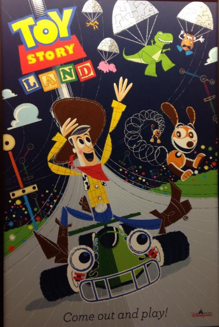 Affiches des Attractions du Parc Walt Disney Studios 20210612
