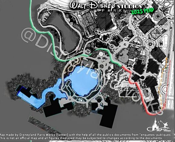 Extension du Parc Walt Disney Studios avec nouvelles zones autour d'un lac (2022-2025) - Page 8 20210614
