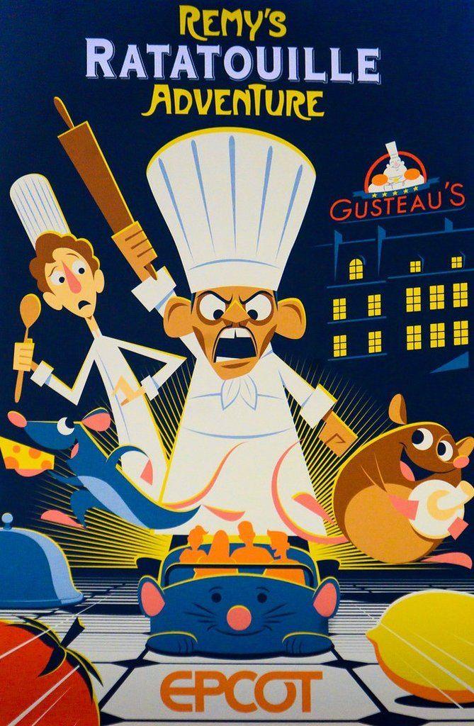 Affiches des Attractions du Parc Walt Disney Studios 9861e410