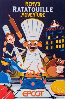 Affiches des Attractions du Parc Walt Disney Studios Epcot-10