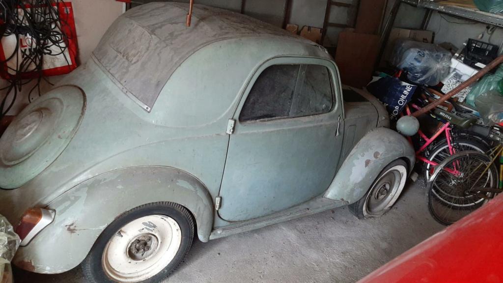 """VENDO FIAT 500 B """"TOPOLINO"""" 1948 Topoli24"""