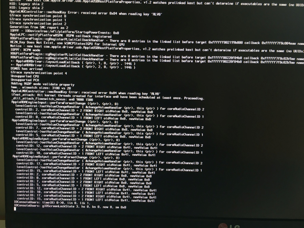 Problème reboot PC - Install Cataline depuis clé USB Img_1512