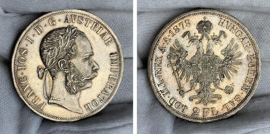 2 florines Austria 1878 0110