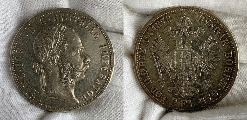 2 florines Austria 1878 0310
