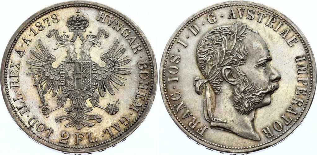 2 florines Austria 1878 2_flor10