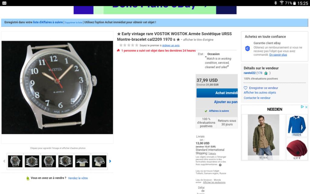 Avis 1er achat montre vintage et gros poignet Screen10
