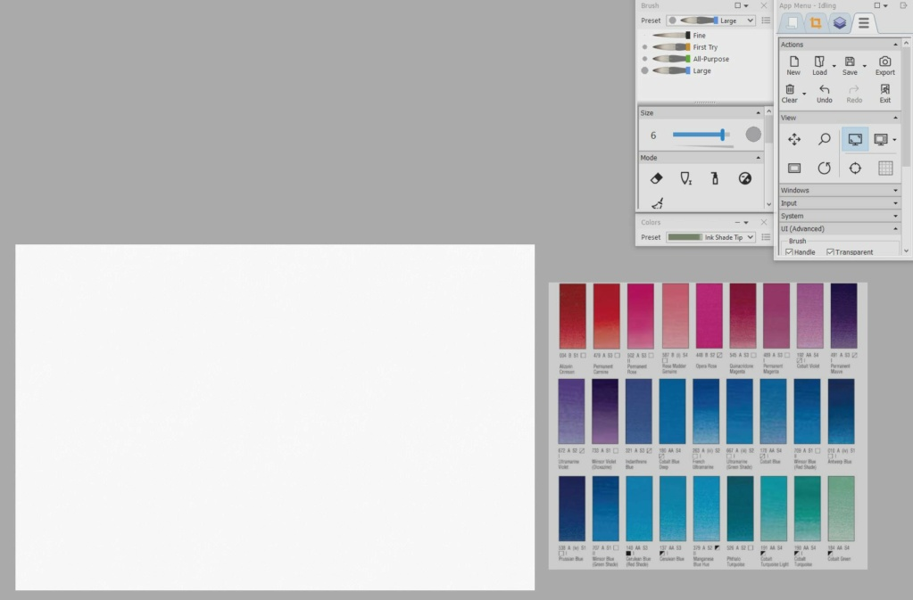 Feature request: Allow Ref image (External) to color pick Palett10