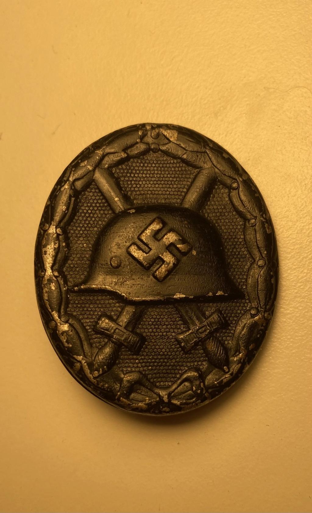 Authentification insigne des blessés allemand ww2  021fdc10