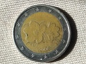 Exceso metal moneda 2 Euros Finlandia Exceso10