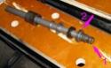 Fourche R65 démontage, joints spis, remontage 01410
