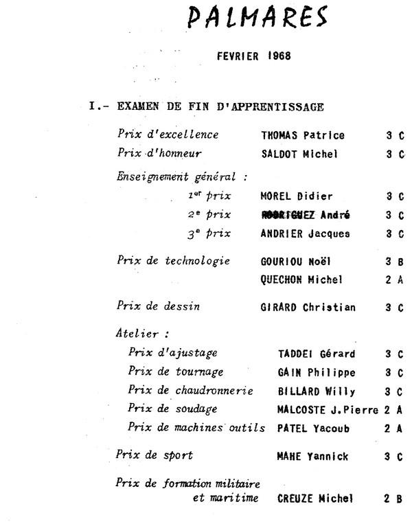 ÉCOLE DES APPRENTIS MÉCANICIENS DE LA FLOTTE - TOME 2 - Page 21 Gem_pa11